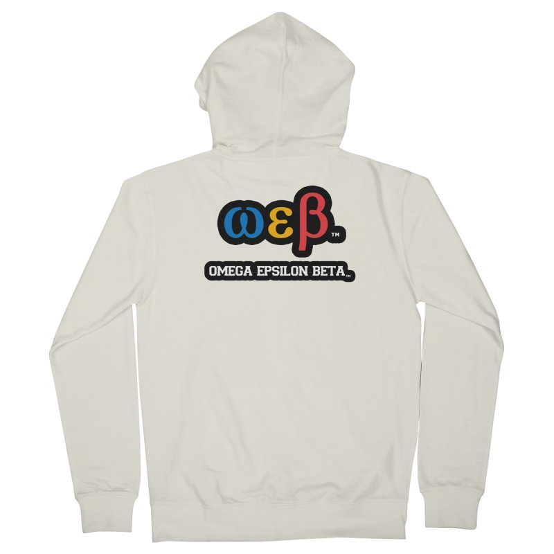 OMEGA EPSILON BETA™ | omegaepsilonbeta.com Women's French Terry Zip-Up Hoody by WebBadge Merch Shop