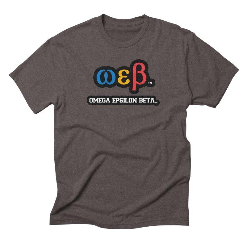 OMEGA EPSILON BETA™ | omegaepsilonbeta.com Men's Triblend T-Shirt by WebBadge Merch Shop