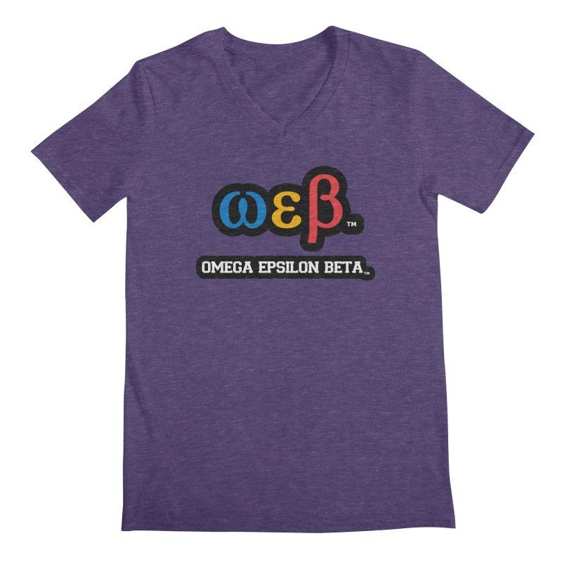 OMEGA EPSILON BETA™ | omegaepsilonbeta.com Men's Regular V-Neck by WebBadge Merch Shop