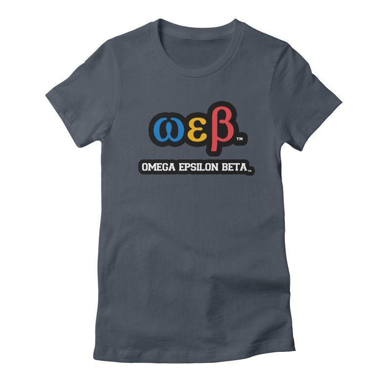 OMEGA EPSILON BETA™   omegaepsilonbeta.com Women's T-Shirt by WebBadge Merch Shop