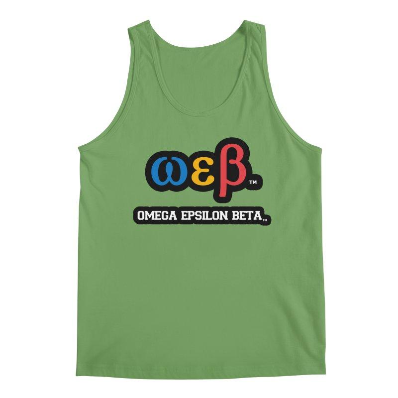 OMEGA EPSILON BETA™ | omegaepsilonbeta.com Men's Tank by WebBadge Merch Shop
