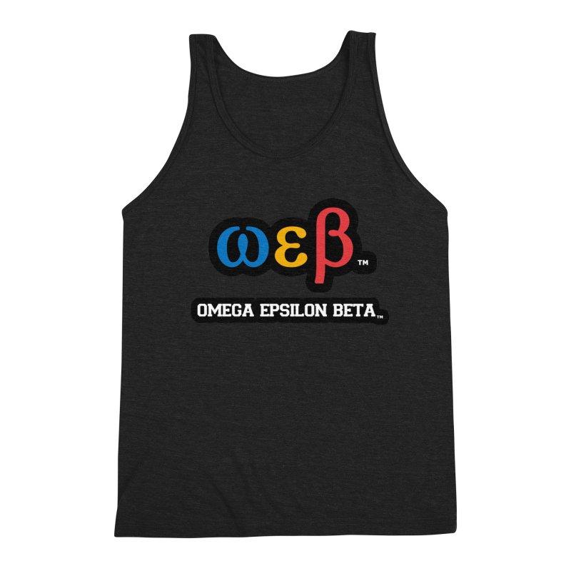 OMEGA EPSILON BETA™ | omegaepsilonbeta.com Men's Triblend Tank by WebBadge Merch Shop