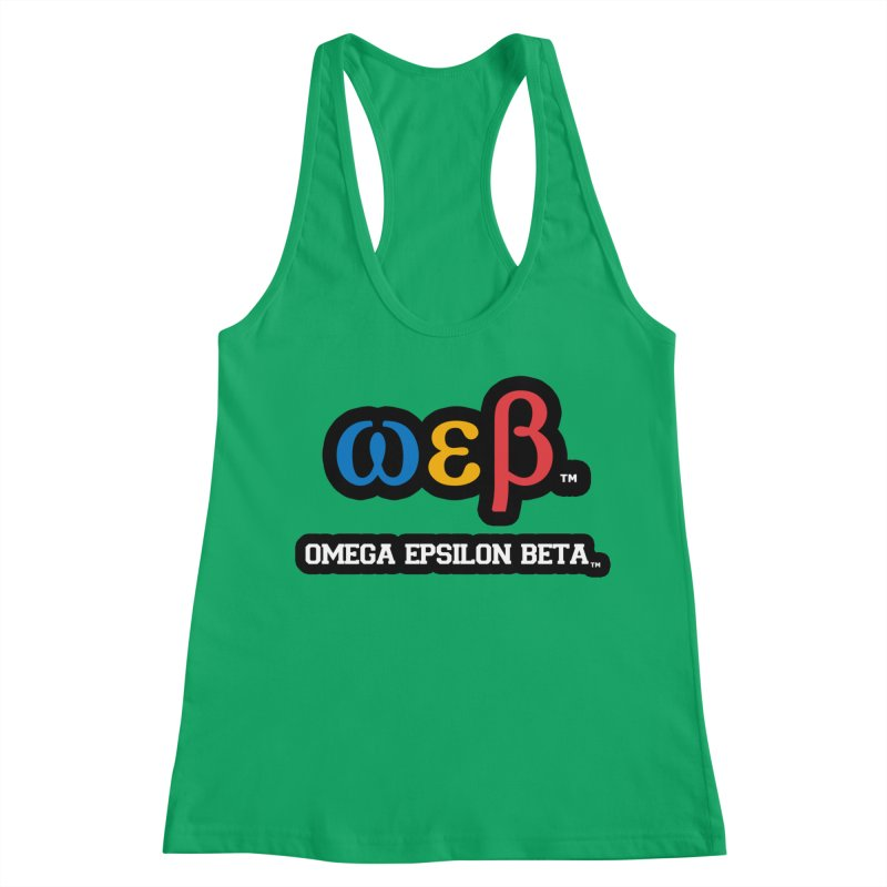 OMEGA EPSILON BETA™ | omegaepsilonbeta.com Women's Tank by WebBadge Merch Shop