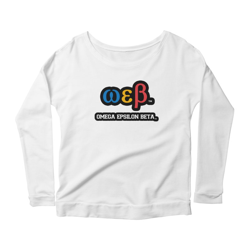 OMEGA EPSILON BETA™   omegaepsilonbeta.com Women's Longsleeve T-Shirt by WebBadge Merch Shop