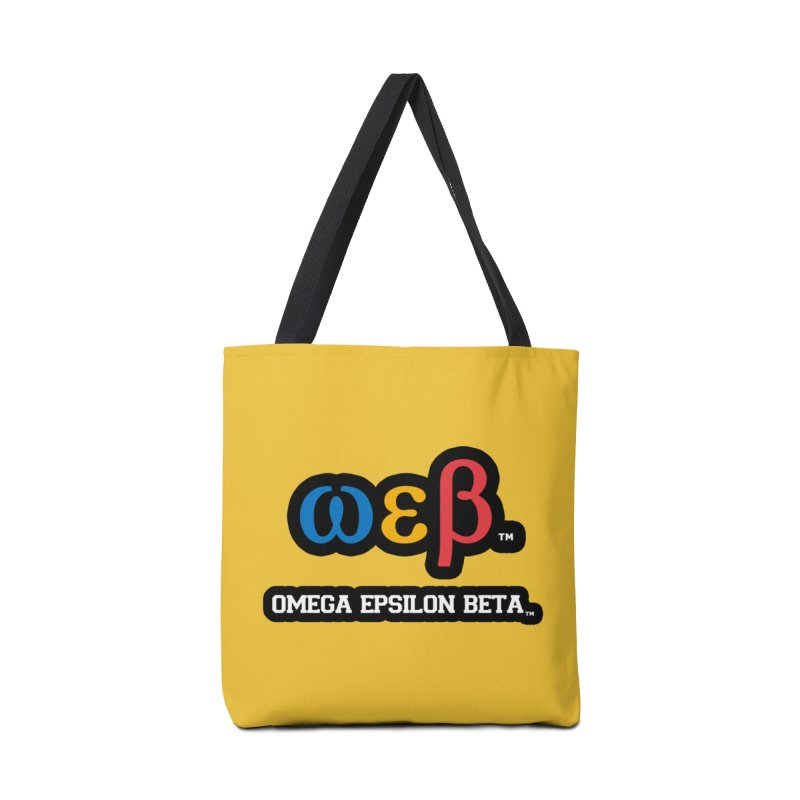OMEGA EPSILON BETA™ | omegaepsilonbeta.com Accessories Tote Bag Bag by WebBadge Merch Shop
