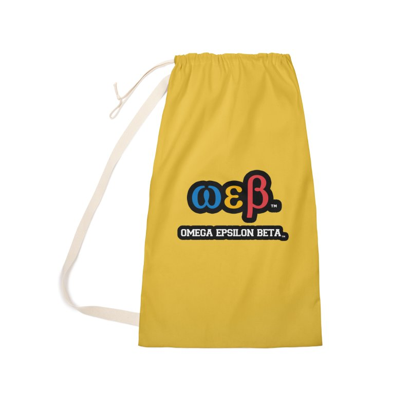OMEGA EPSILON BETA™ | omegaepsilonbeta.com Accessories Bag by WebBadge Merch Shop