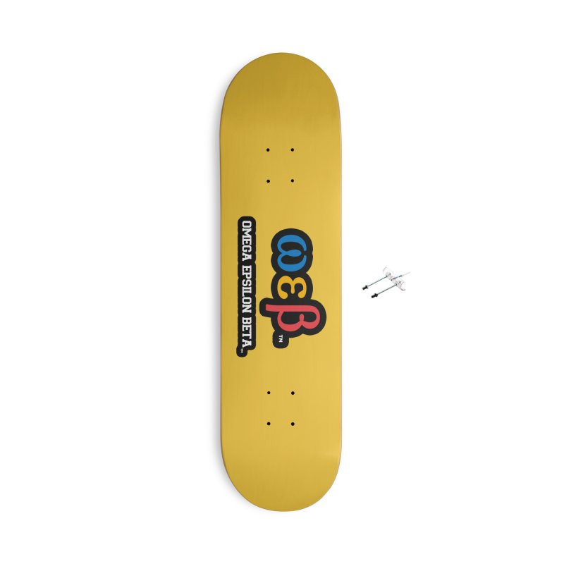 OMEGA EPSILON BETA™   omegaepsilonbeta.com Accessories Skateboard by WebBadge Merch Shop