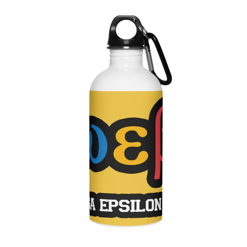 OMEGA EPSILON BETA™ | omegaepsilonbeta.com Accessories Water Bottle by WebBadge Merch Shop