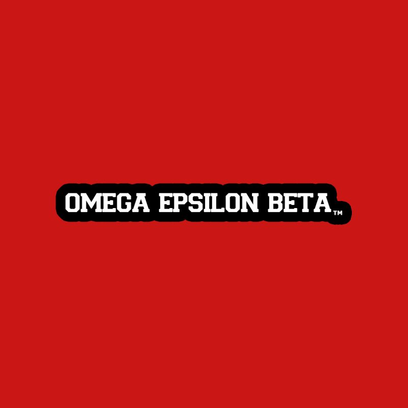 OMEGA EPSILON BETA™ Style 3 | omegaepsilonbeta.com by WebBadge Merch Shop
