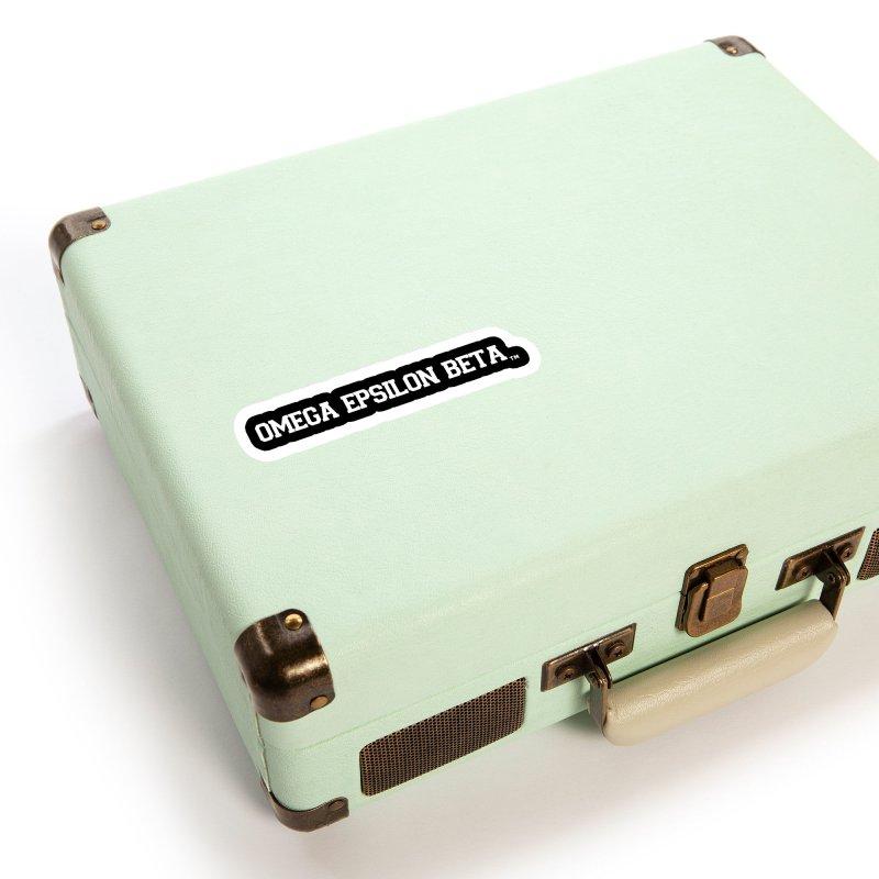 OMEGA EPSILON BETA™ Style 3 | omegaepsilonbeta.com Accessories Sticker by WebBadge Merch Shop