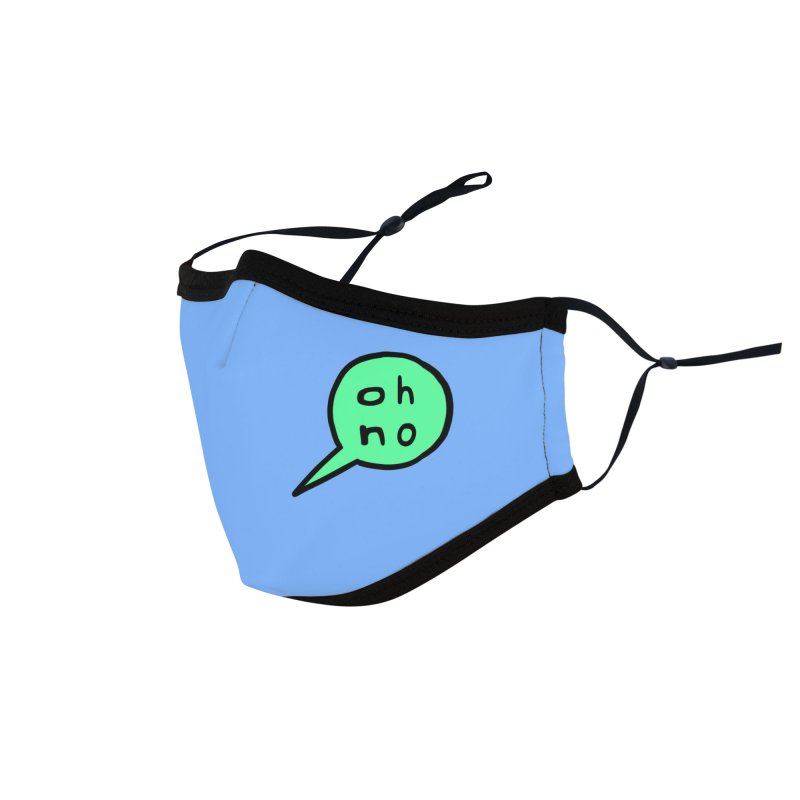 Blue Oh No Face Mask Accessories Face Mask by Oh No Face Masks