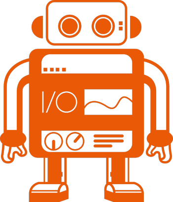 webdriverio's Artist Shop Logo