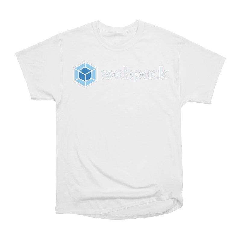 webpack named logo Men's T-Shirt by webpack developer outfitters