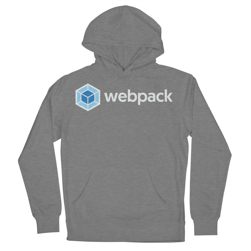 webpack named logo Women's Pullover Hoody by webpack developer outfitters