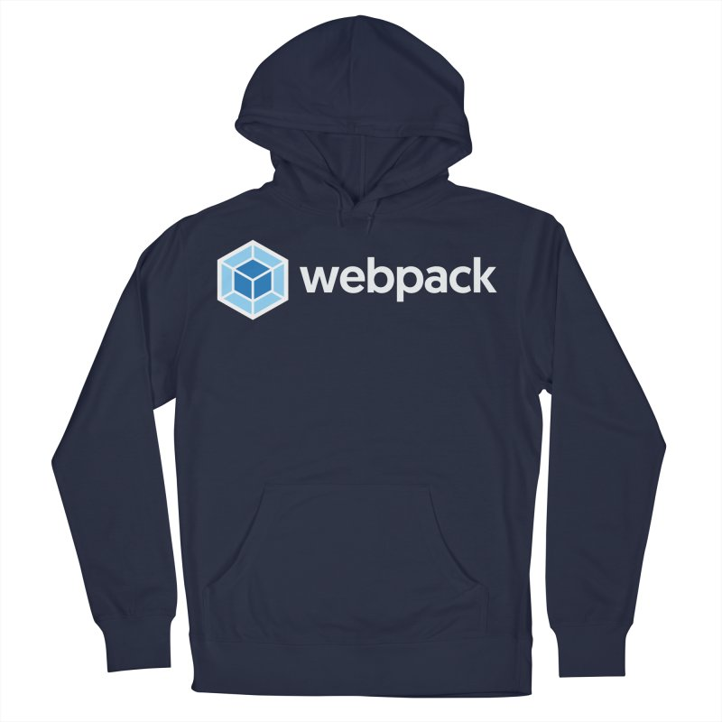 webpack named logo Men's French Terry Pullover Hoody by webpack developer outfitters