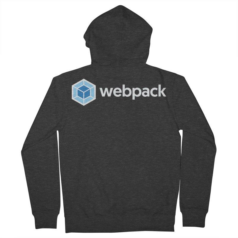 webpack named logo Women's Zip-Up Hoody by webpack developer outfitters
