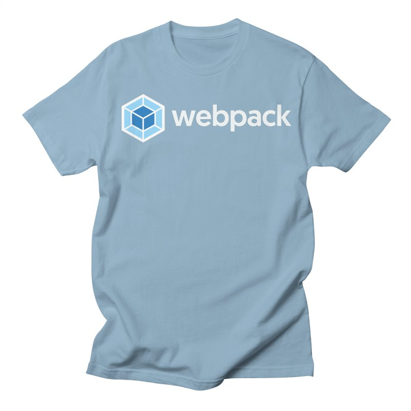 webpack named logo Men's T-Shirt by webpack developer outfitters