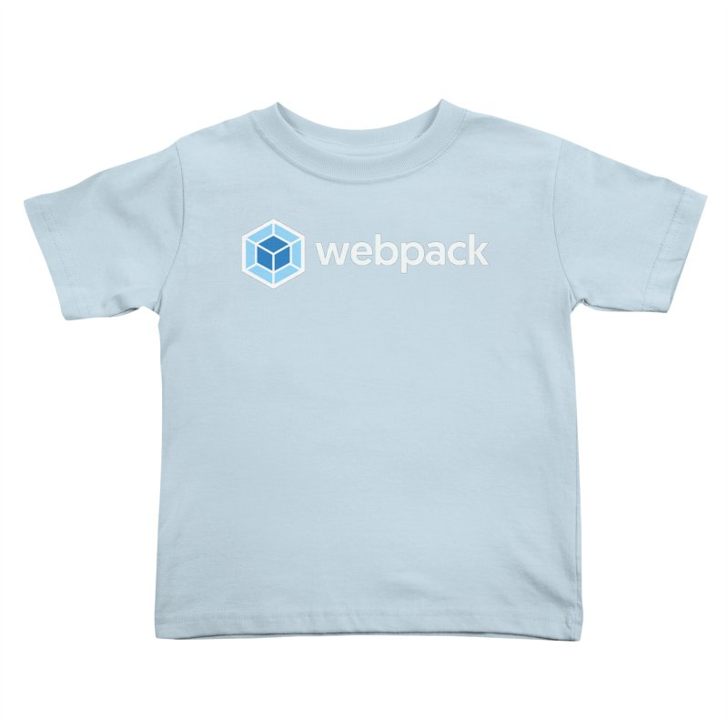 webpack named logo Kids Toddler T-Shirt by webpack developer outfitters