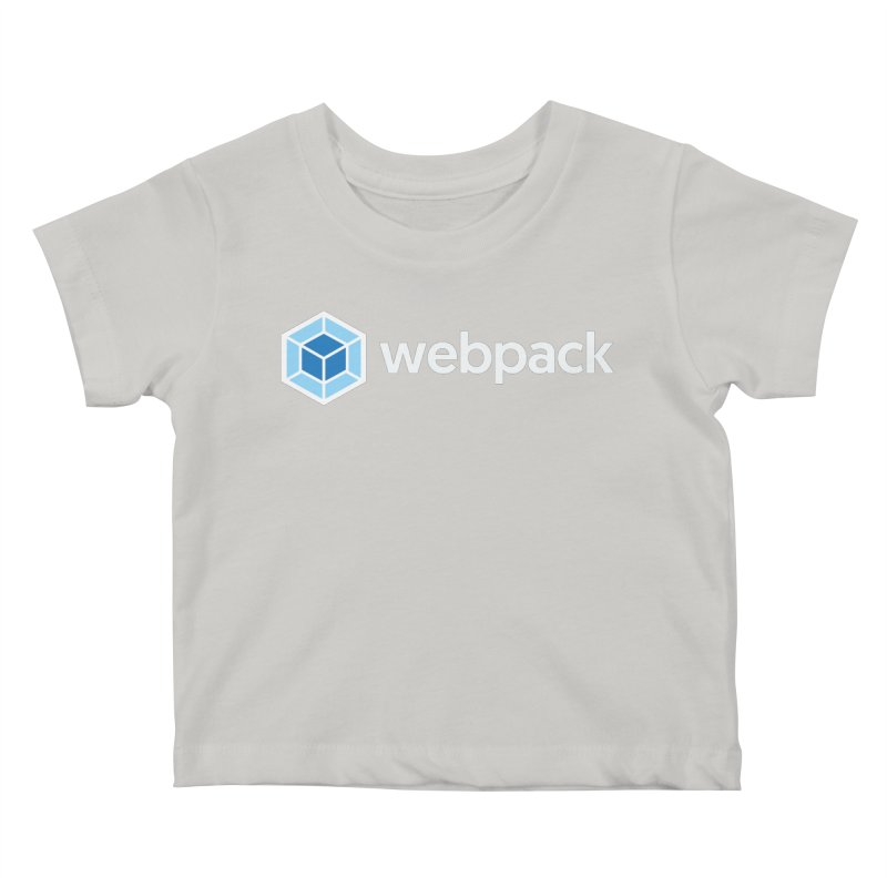 webpack named logo Kids Baby T-Shirt by webpack developer outfitters