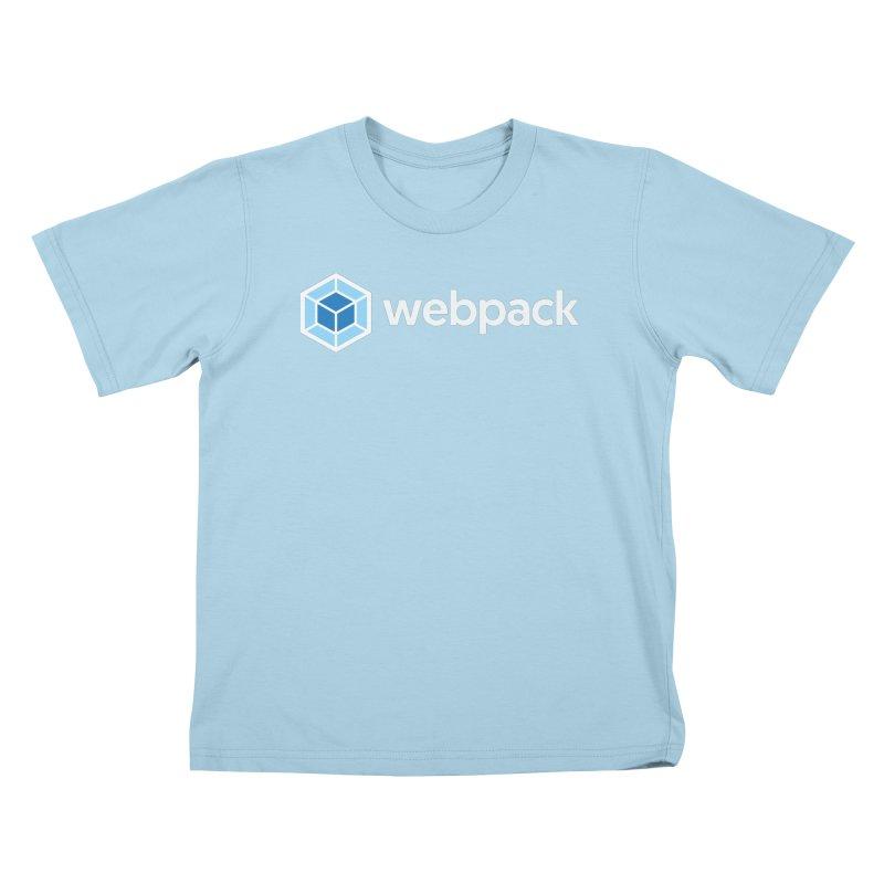 webpack named logo Kids T-Shirt by webpack developer outfitters