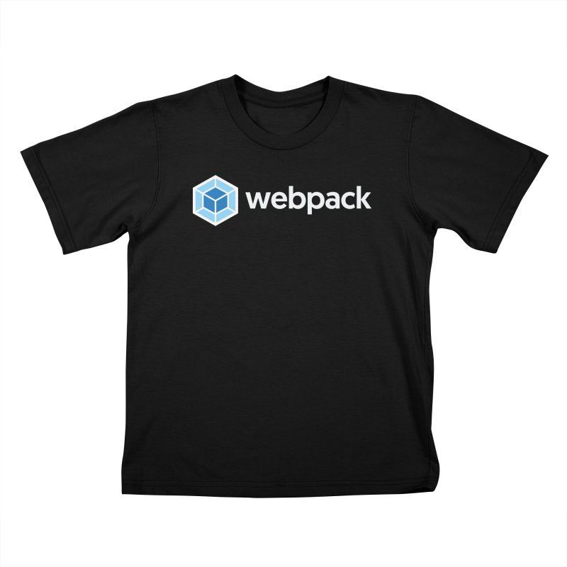 webpack named logo Kids T-Shirt by webpack developer outfitters