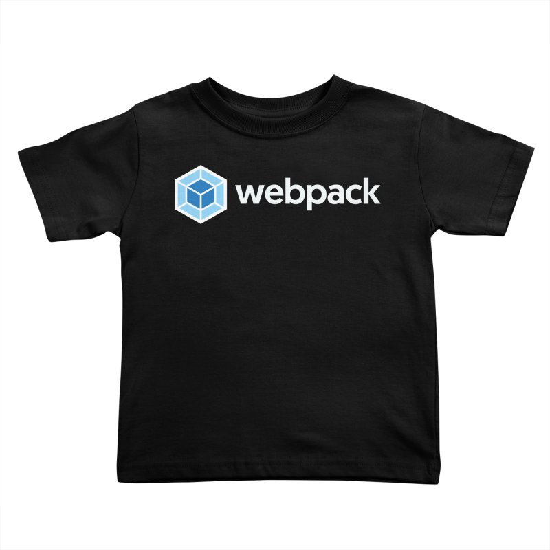 webpack named logo Kids Toddler T-Shirt by webpack developer outfitters
