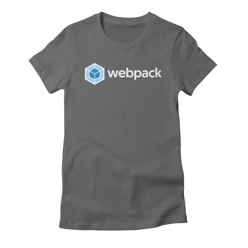 webpack named logo Women's T-Shirt by webpack developer outfitters