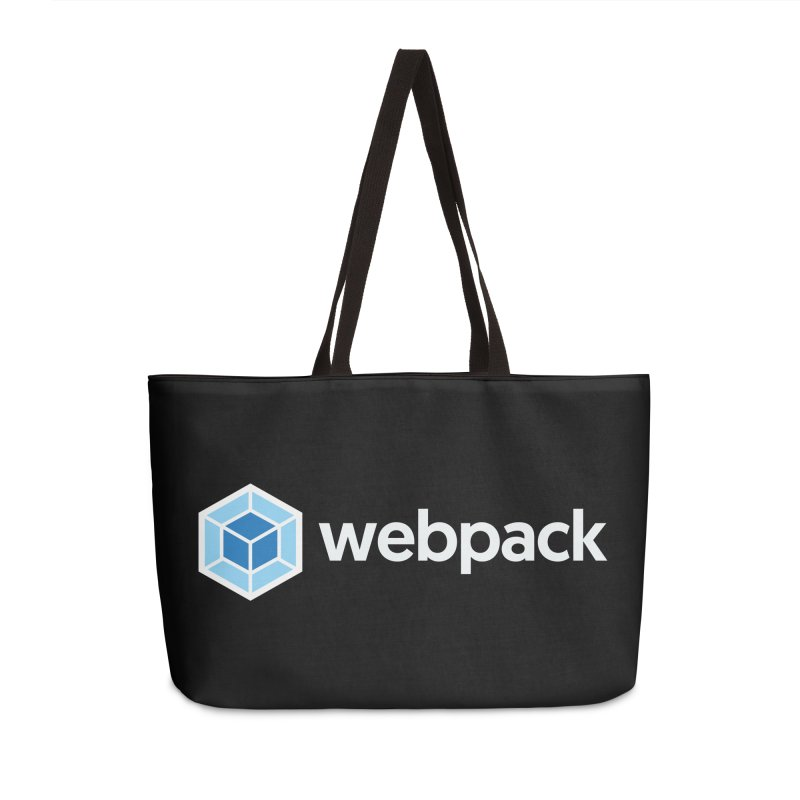webpack named logo Accessories Weekender Bag Bag by webpack developer outfitters