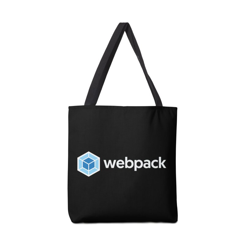 webpack named logo Accessories Tote Bag Bag by webpack developer outfitters