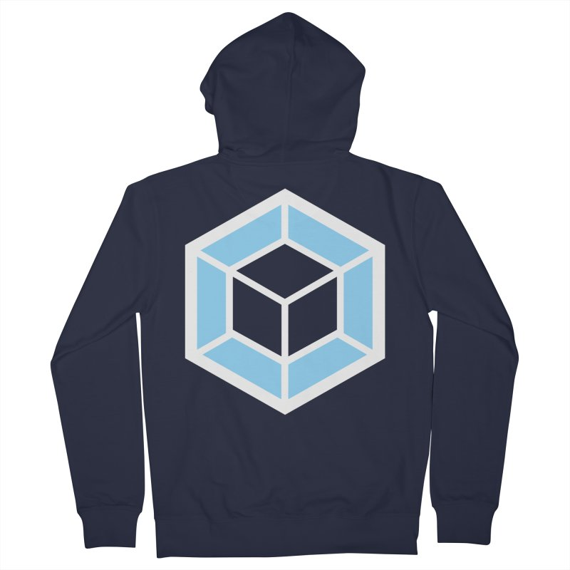 Transparencey Men's Zip-Up Hoody by webpack developer outfitters