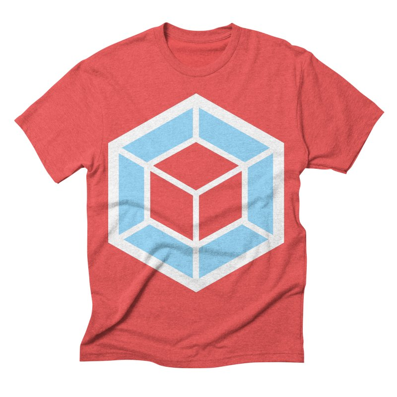 Transparencey Men's Triblend T-shirt by webpack developer outfitters