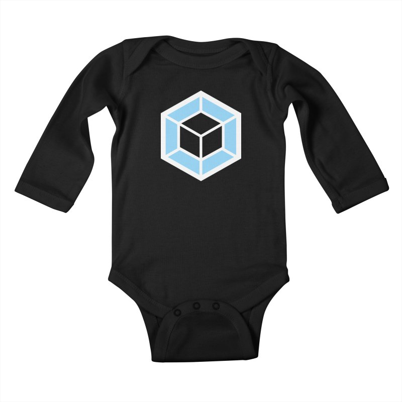 Transparencey Kids Baby Longsleeve Bodysuit by webpack developer outfitters