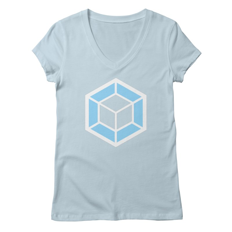 Transparencey Women's V-Neck by webpack developer outfitters