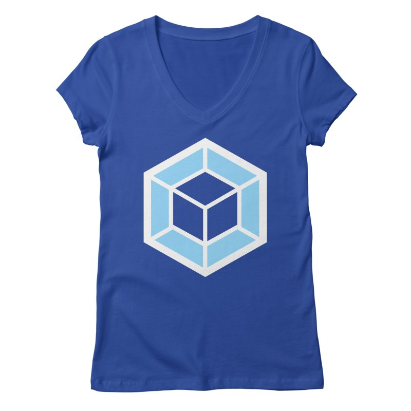 Transparencey Women's Regular V-Neck by webpack developer outfitters