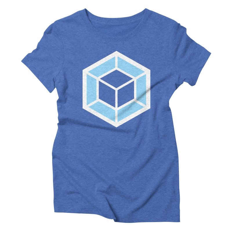 Transparencey in Women's Triblend T-shirt Blue Triblend by webpack developer outfitters