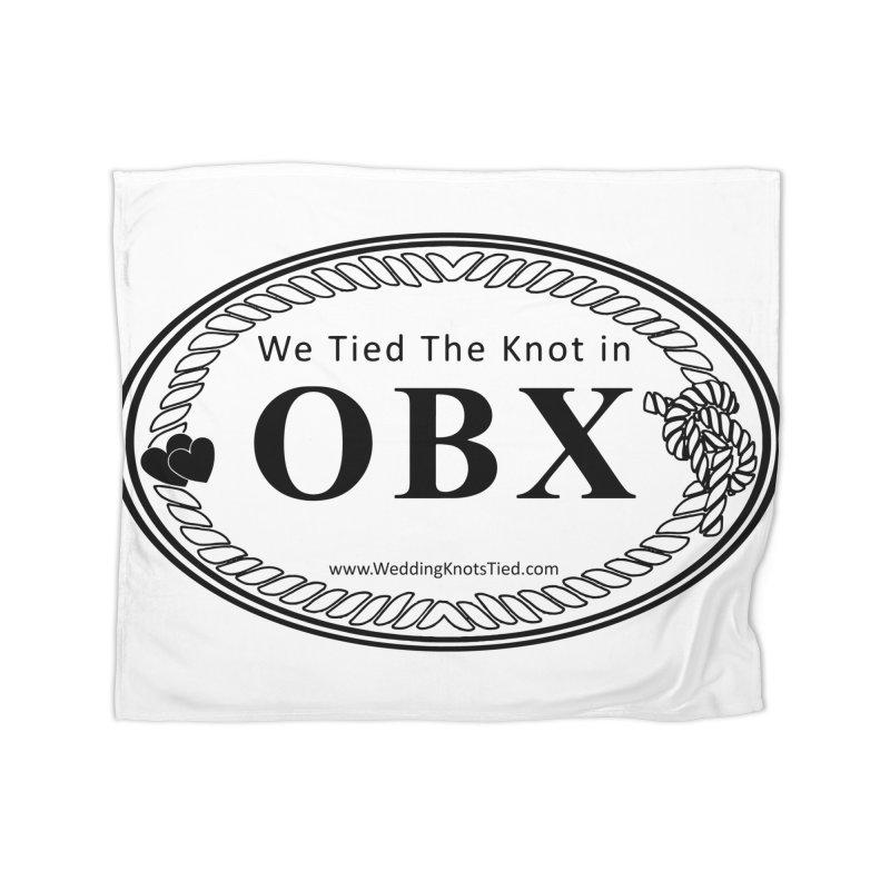 OBX Oval Home Fleece Blanket Blanket by Married on a Sandbar!