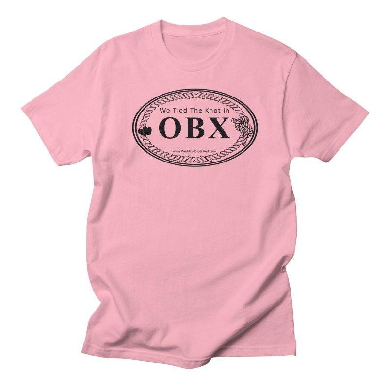 OBX Oval Women's Regular Unisex T-Shirt by Married on a Sandbar!