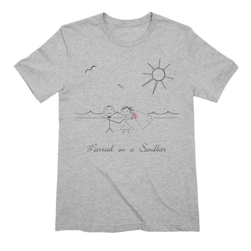 Married On A Sandbar Men's Extra Soft T-Shirt by Married on a Sandbar!