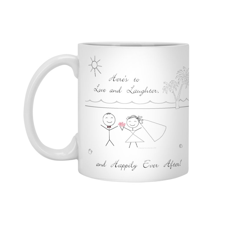 Happily Ever After Accessories Standard Mug by Married on a Sandbar!