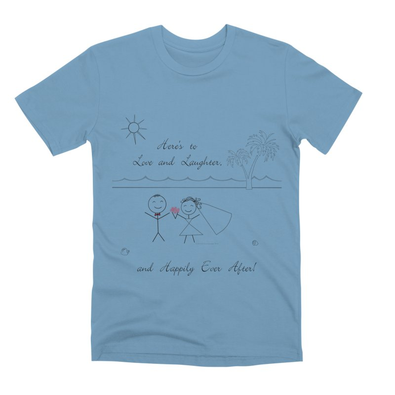 Happily Ever After Men's Premium T-Shirt by Married on a Sandbar!