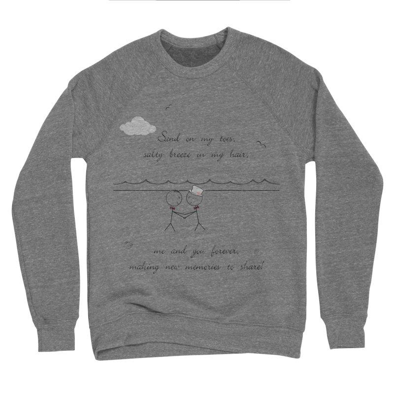 Memories 2 Men's Sponge Fleece Sweatshirt by Married on a Sandbar!