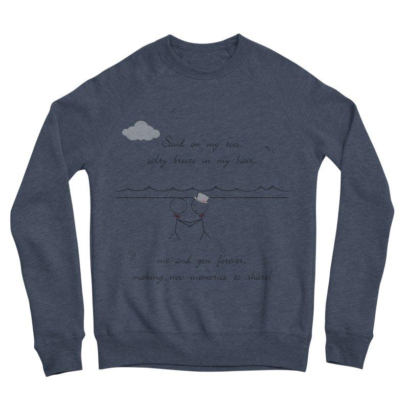 Memories 2 Women's Sponge Fleece Sweatshirt by Married on a Sandbar!
