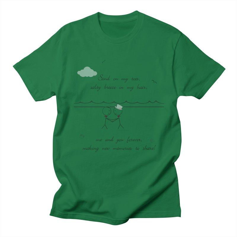 Memories 2 Men's T-Shirt by Married on a Sandbar!