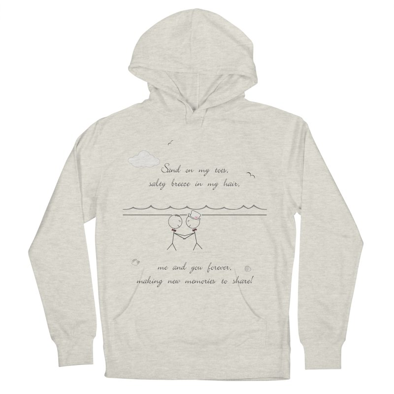 Memories 2 Women's French Terry Pullover Hoody by Married on a Sandbar!