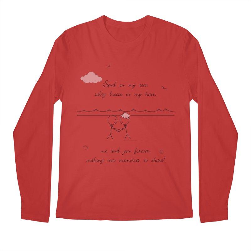Memories 2 Men's Regular Longsleeve T-Shirt by Married on a Sandbar!