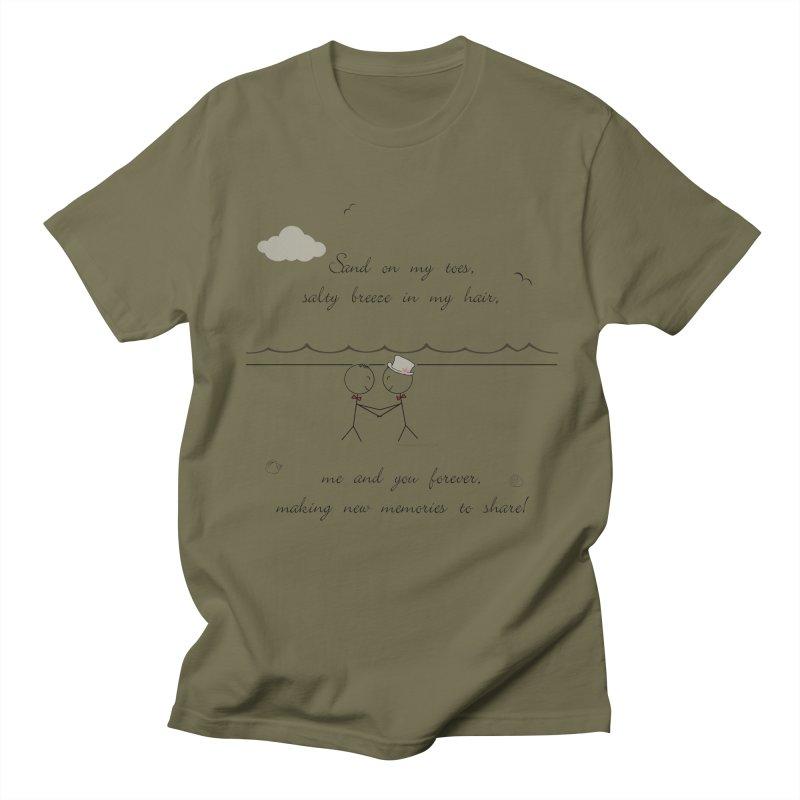 Memories 2 Women's Regular Unisex T-Shirt by Married on a Sandbar!