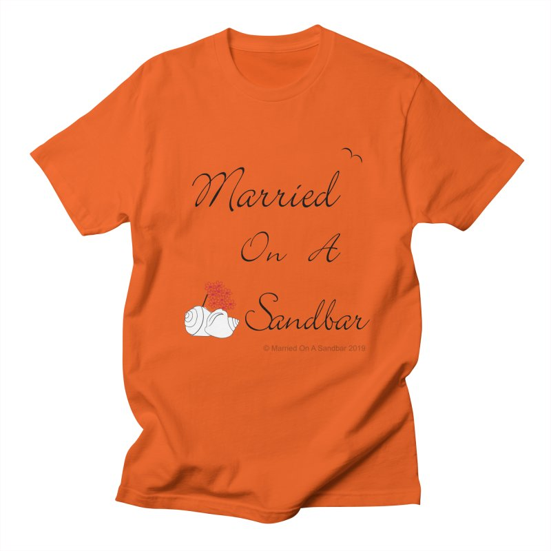 Married On A Sandbar logo Men's T-Shirt by Married on a Sandbar!