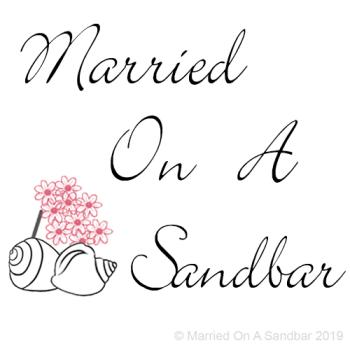 Married on a Sandbar! Logo