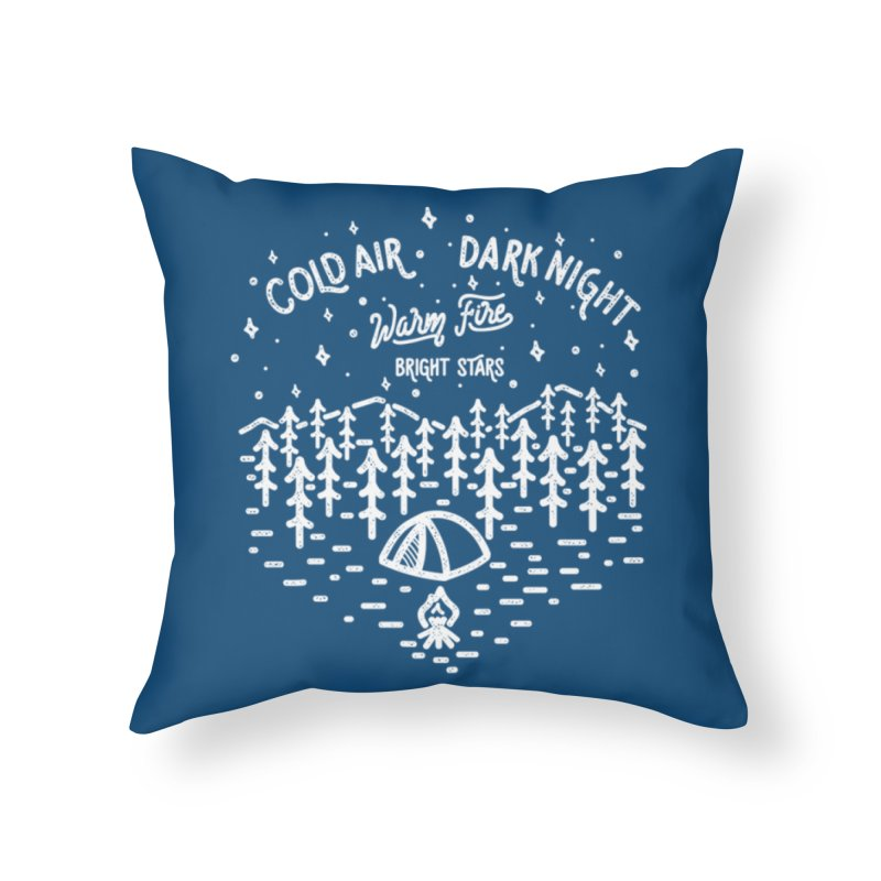 CAMPER Home Throw Pillow by wege on threadless