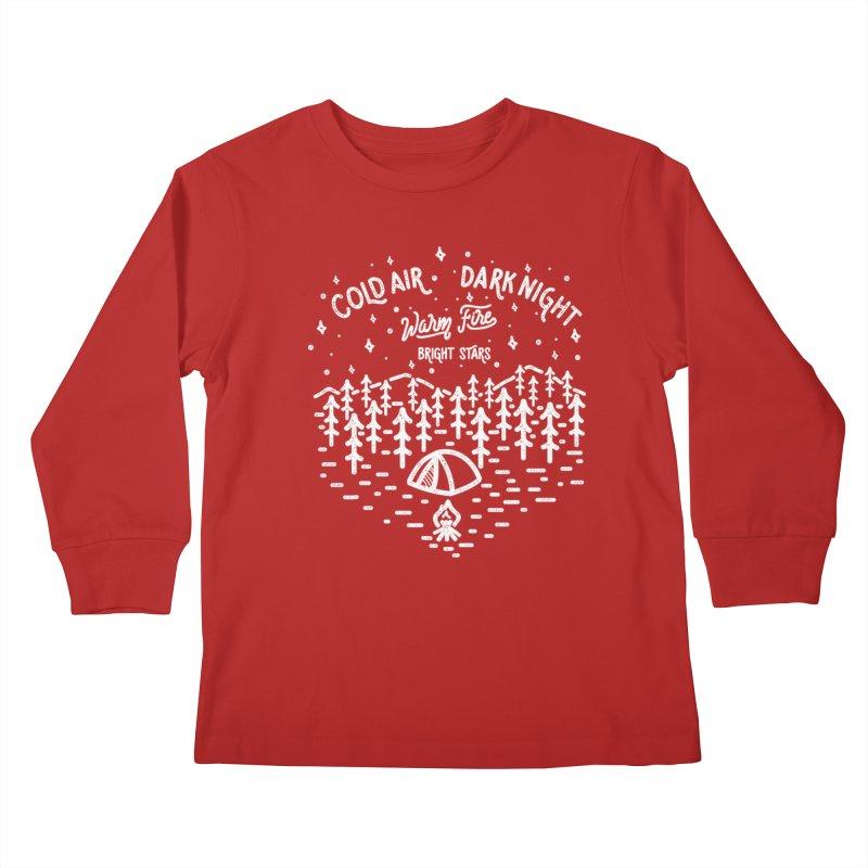 CAMPER Kids Longsleeve T-Shirt by wege on threadless